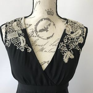 Anthropologie Dresses - Anthropologie ~ Lace Tulip Wrap Dress